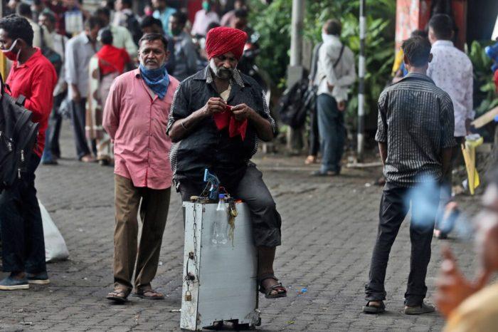 India registra sobre 90,000 casos de COVID-19 en las pasadas 24 horas