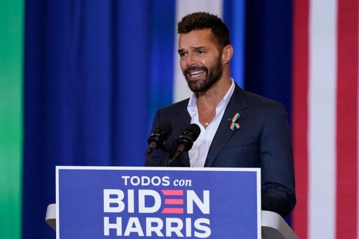 Joe Biden destaca su plan para Puerto Rico en Kissimmee, junto a Ricky Martin y Luis Fonsi