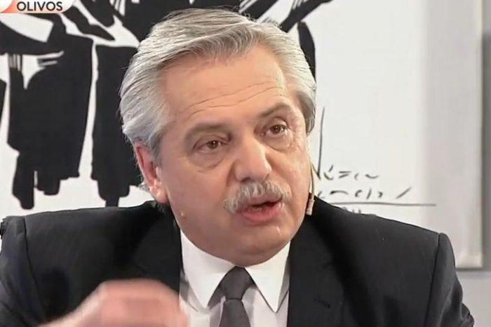 """""""No me voy a callar cuando el ex presidente desde Suiza llama a la gente a marchar"""""""