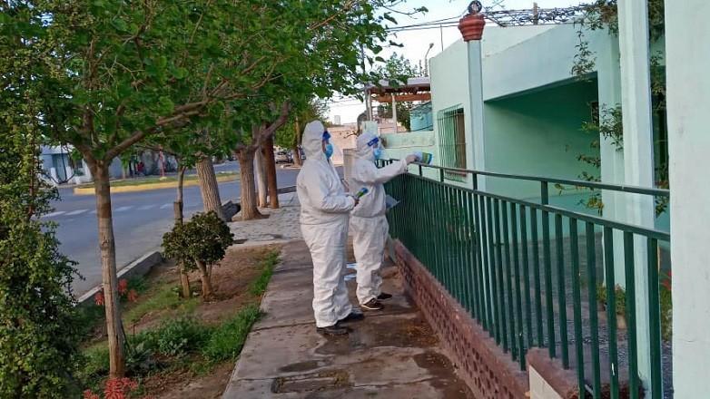 Rawson: equipos de Salud realizan acciones preventivas contra el dengue