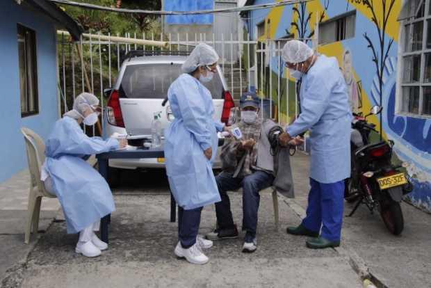 De los 139 contagiados de covid-19 en hogares de adultos mayores en Manizales, 92 permanecen activos