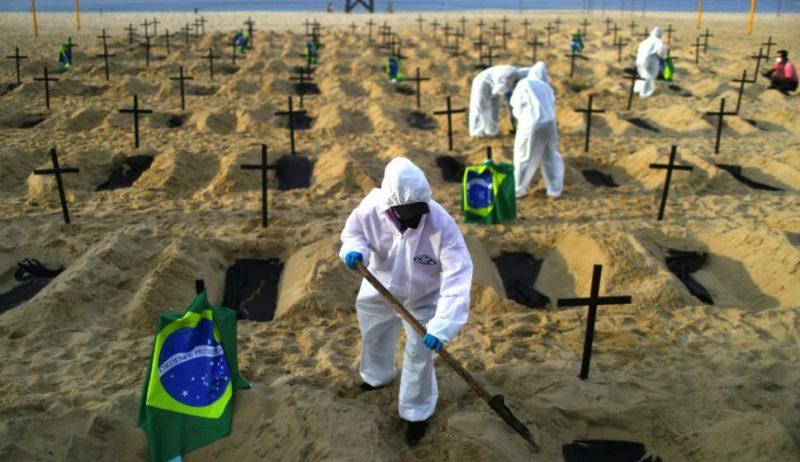 Brasil muestra un repunte de casos de Coronavirus sin haber superado aun la primera ola