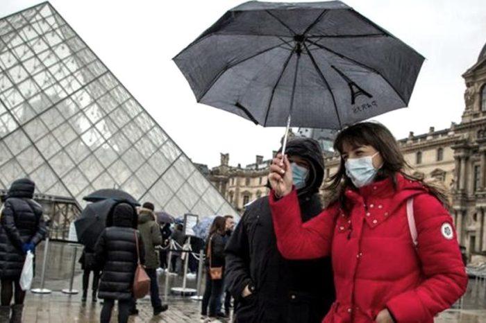 Francia redujo la cantidad de contagios de coronavirus en un dia
