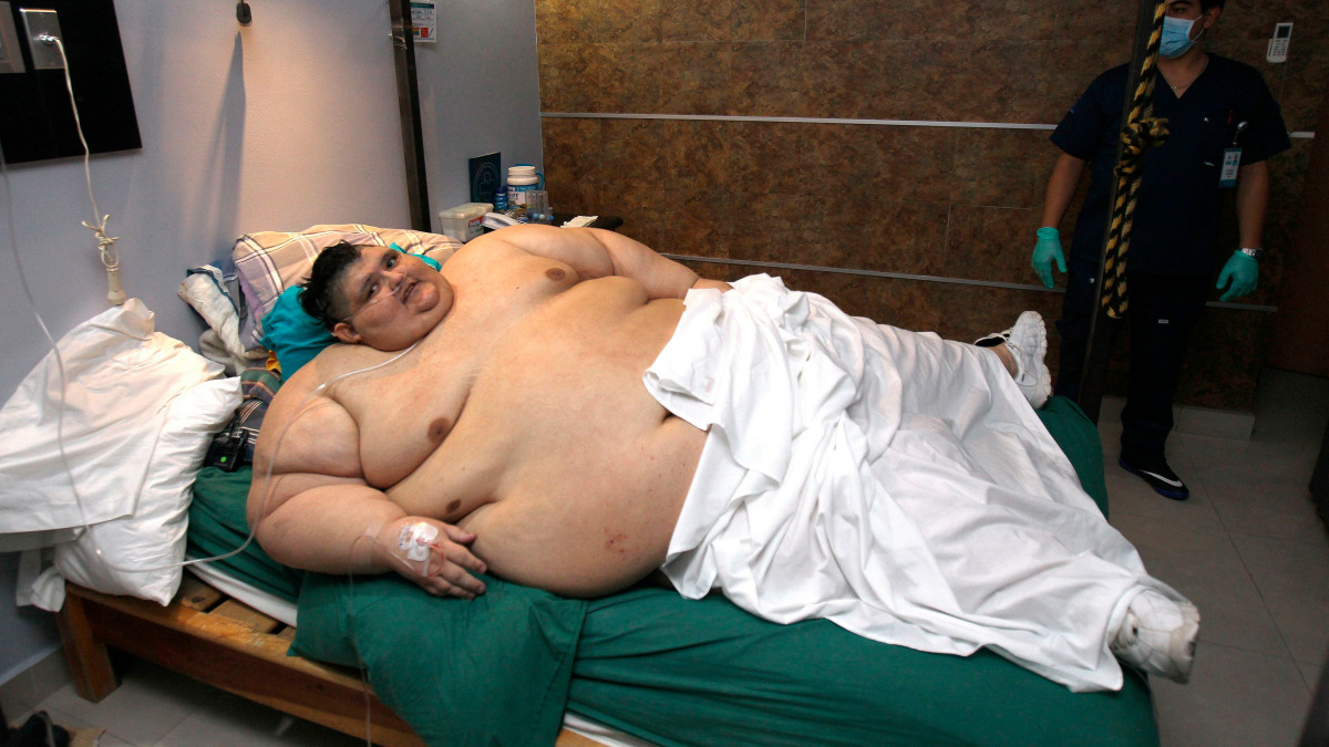 """Mexicano nombrado el ser humano """"mas gordo del mundo"""" sobrevive al COVID-19"""