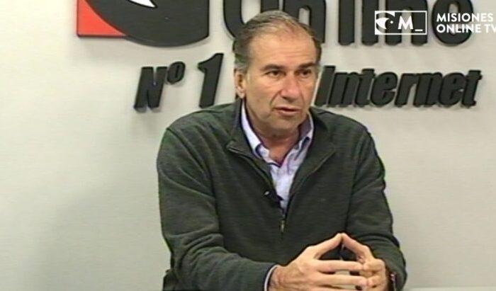El senador de Misiones Humberto Schiavoni dio positivo para COVID-19