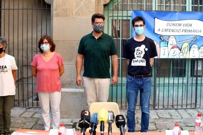 """Los CAP en Catalunya estan en """"extrema emergencia"""", denuncian activistas"""