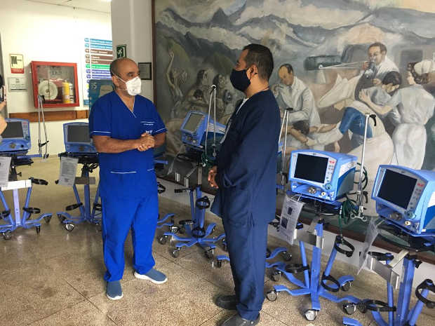 Hospital Santa Sofia fortalece Sala Covid