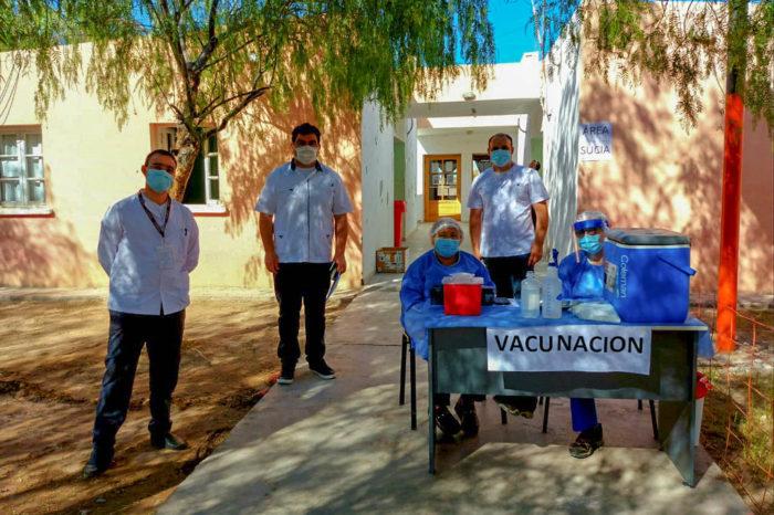 El equipo de Salud de 25 de Mayo realizo un operativo de testeos en El Encon