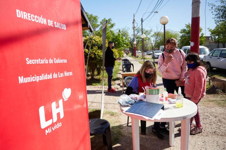 Las Heras sale por los barrios a controlar la salud de sus vecinos