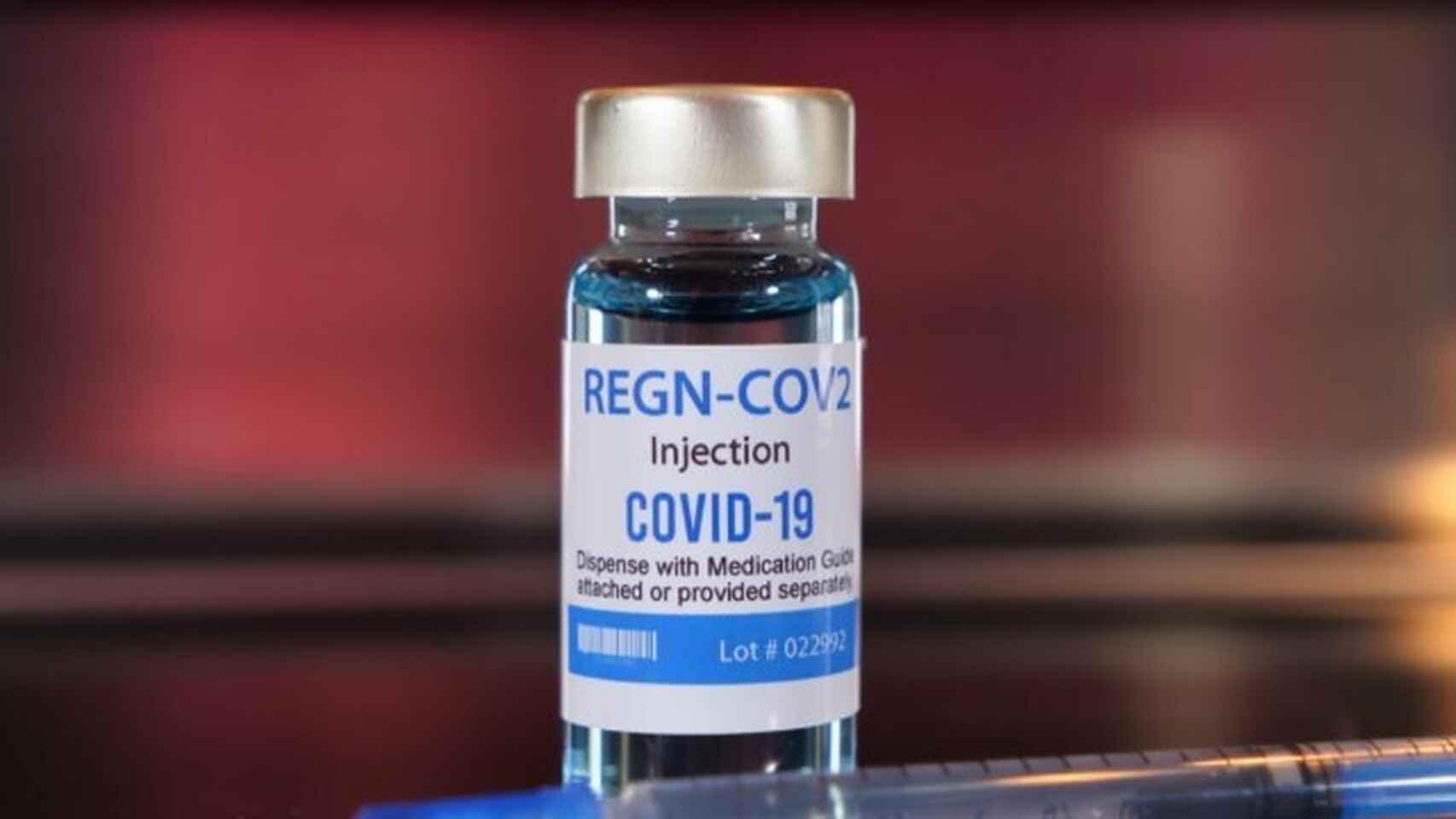 Éste es el farmaco experimental para la Covid que le han inyectado a Donald Trump