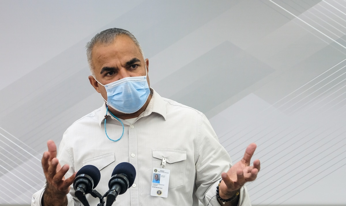 Lorenzo Gonzalez no suelta detalles sobre el contenido de la nueva orden ejecutiva