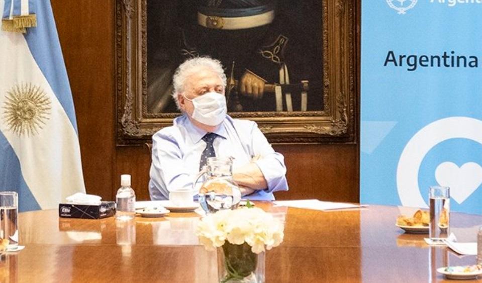 El ministro Gines Gonzalez Garcia hablo sobre la vacuna contra el coronavirus