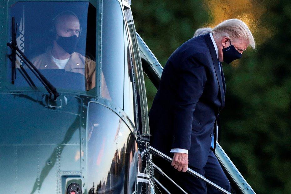 Estados Unidos - Donald Trump: El presidente estadounidense dio a conocer el viernes que arrojo resultado positivo a COVID-19, al igual que la primera dama Melania Trump.