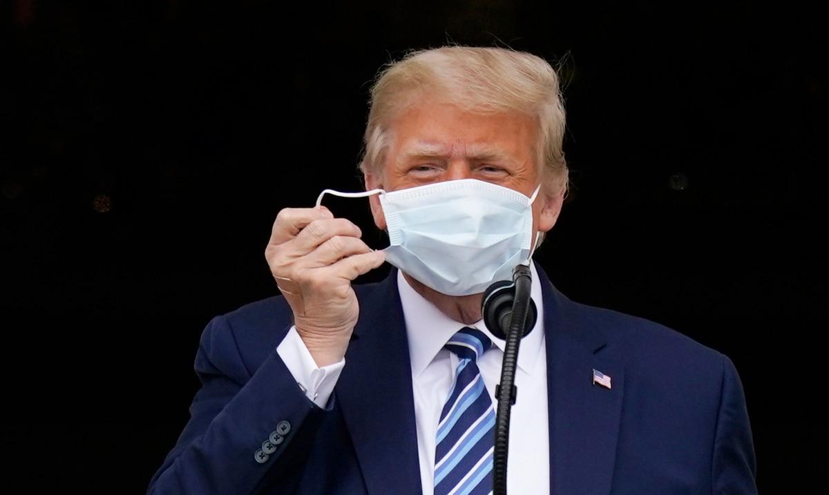 """Medico de Donald Trump: el presidente ya no representa """"un riesgo de transmision"""""""