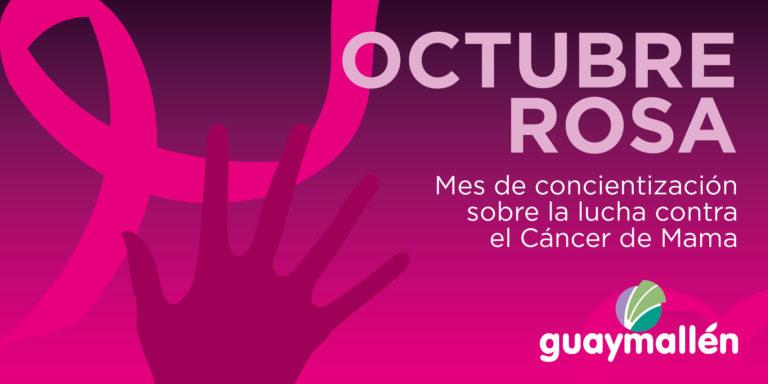 #OctubreRosa, campaña para concientizar sobre el cancer de mama