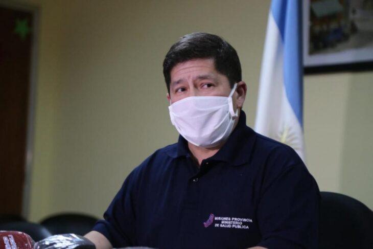 El ministro de Salud de Misiones participo del reporte matutino de coronavirus nacional