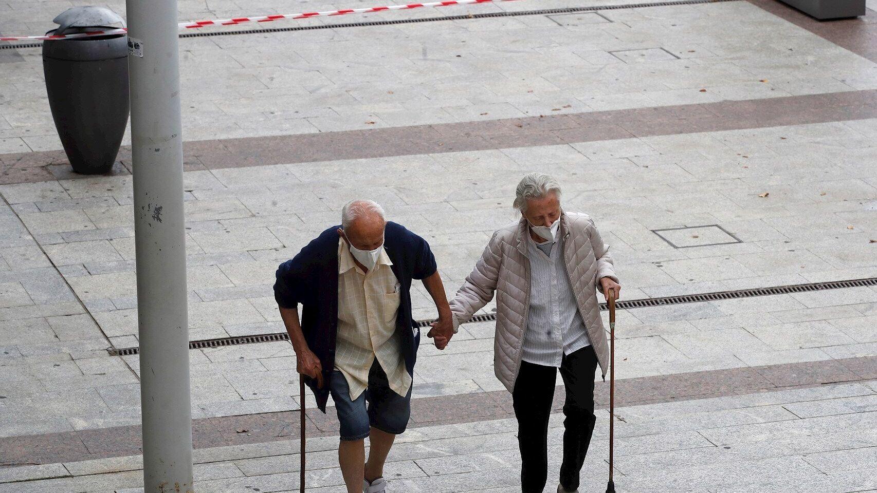 Mas de 3.000 muertos por Covid en España en septiembre, la mayoria otra vez mayores de 80