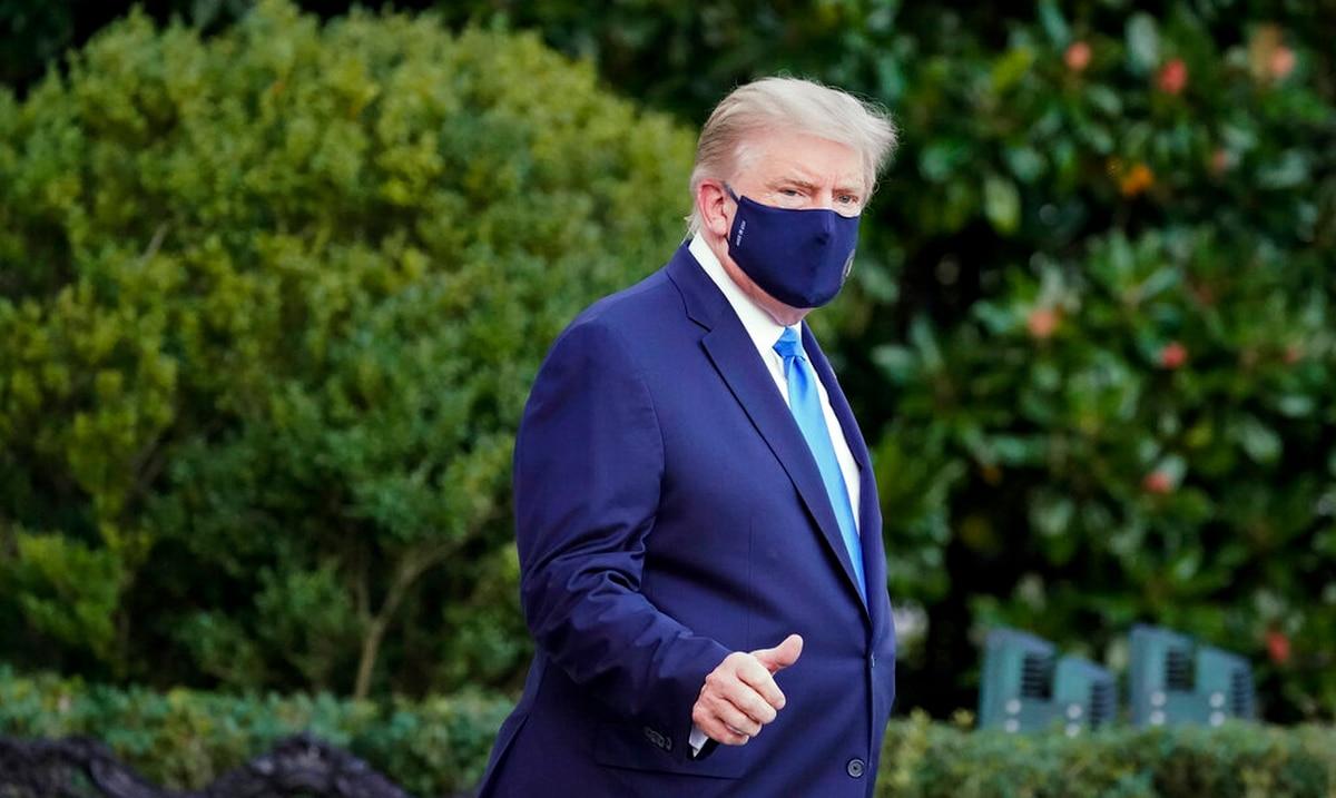 Donald Trump es hospitalizado como medida de precaucion tras dar positivo al coronavirus