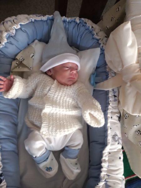 Lautaro es el bebe mas pequeño que nacio en la maternidad de OSEP