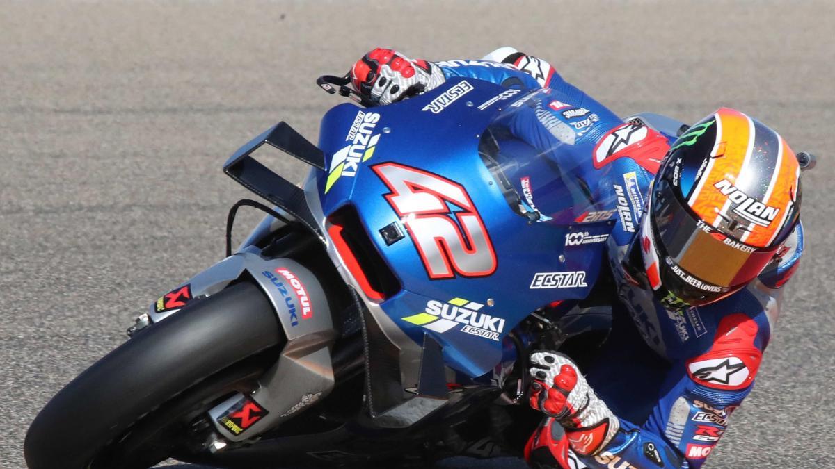 Alex Rins encabezo una jornada memorable para el motociclismo español.