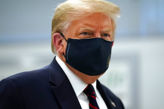Trump agradece a sus seguidores las concentraciones de apoyo frente al hospital