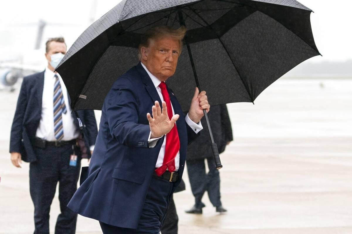 Trump da negativo a COVID-19 en dias consecutivos
