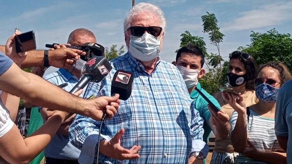 El ministro de Salud de Argentina, Gines Gonzalez Garcia ratifico que las fronteras terrestres de Misiones con Paraguay y Brasil seguiran cerradas