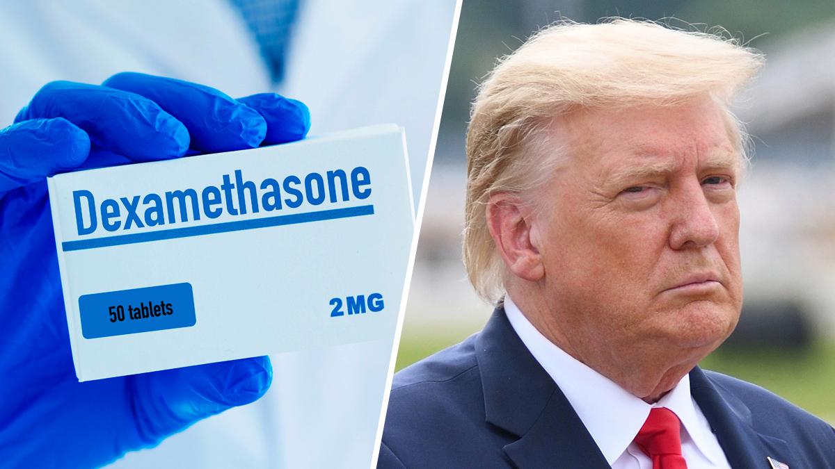 Que es la dexametasona, el tratamiento que recibe Trump contra el COVID-19
