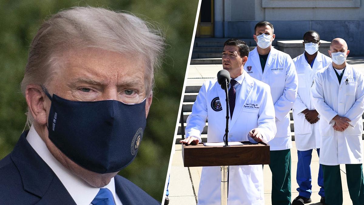 EN VIVO: Ofrecen actualizacion del estado de salud del presidente Trump