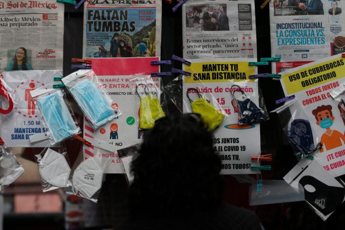 En cifras: Mexico registra 78,880 decesos y 757,953 contagios