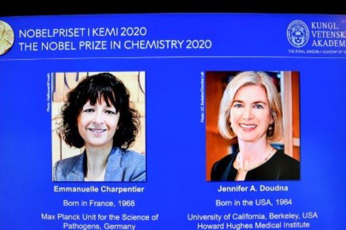 Dos mujeres genetistas ganan el premio Nobel de Quimica