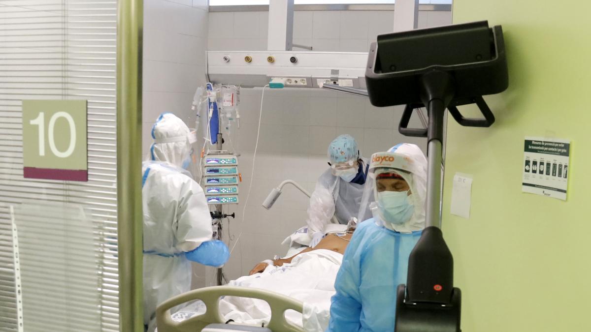 La OMS alerta de que los hospitales y las UCI en Europa podrian colapsar en las proximas semanas