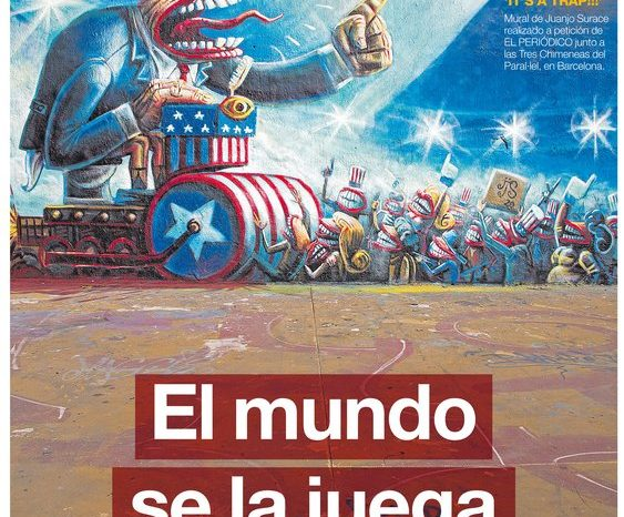 La portada de EL PERIÓDICO del 1 de noviembre del 2020