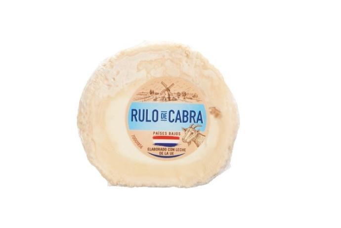 Lidl retira un lote de queso rulo de cabra por contener listeria