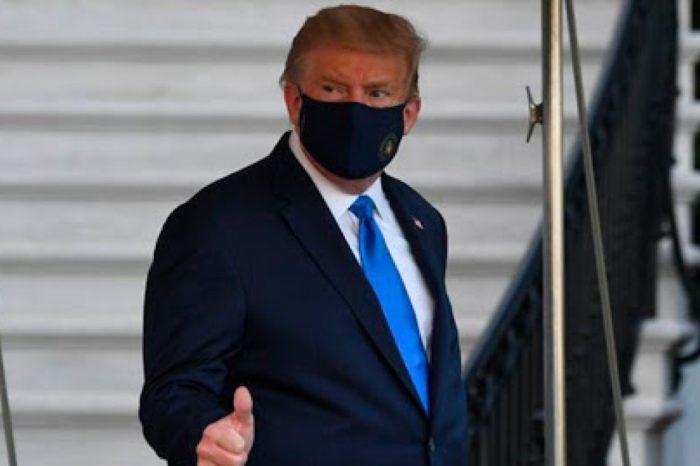 """Aprendi mucho sobre COVID"": Donald Trump sale brevemente del hospital para saludar"