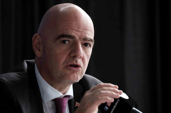 El presidente de la FIFA da positivo a prueba del coronavirus