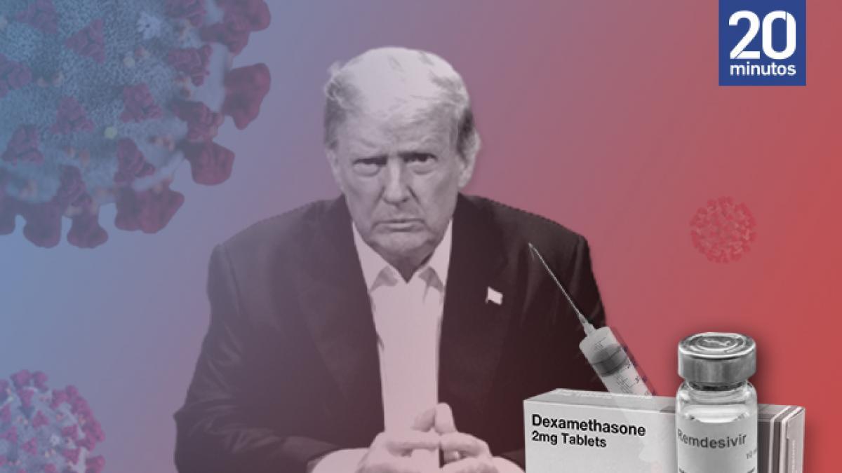 Trump, conejillo de indias de Regeneron: asi es el novedoso coctel de medicinas contra la Covid