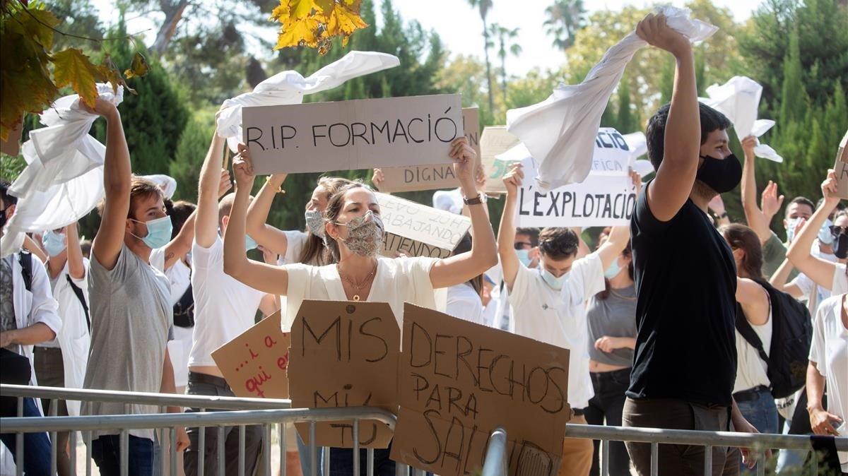 Los MIR catalanes haran mas huelgas este mes