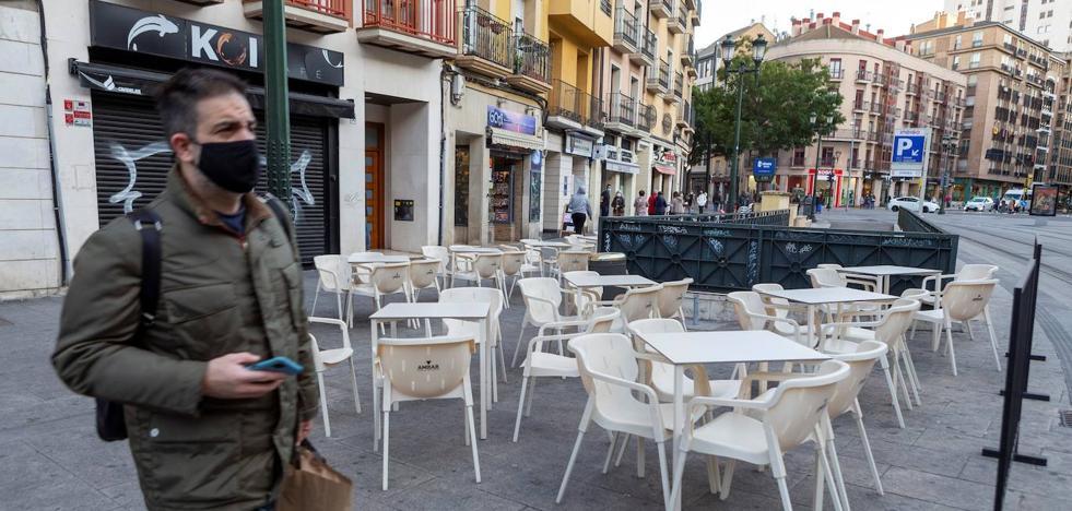 Aragon confina Zaragoza, Huesca y Teruel