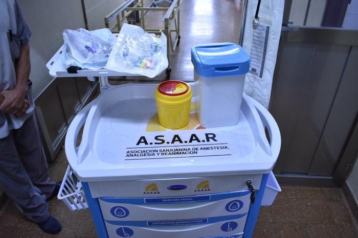 Importante donacion para disminuir los riesgos en procesos de intubacion