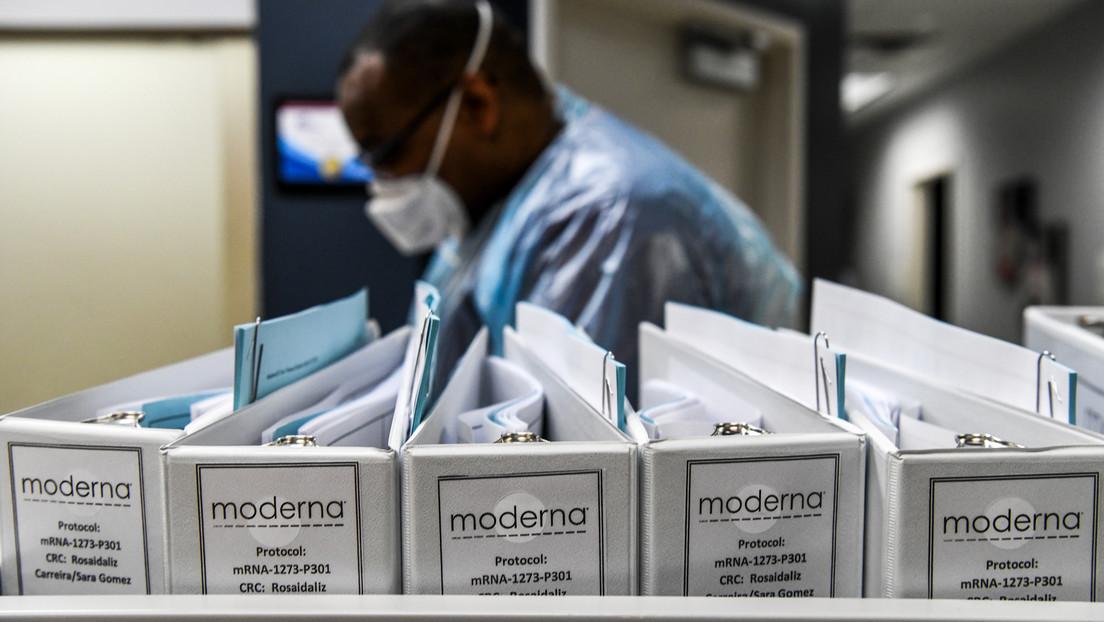 La farmaceutica estadounidense Moderna anuncia que su vacuna contra el coronavirus muestra un 94,5 % de efectividad