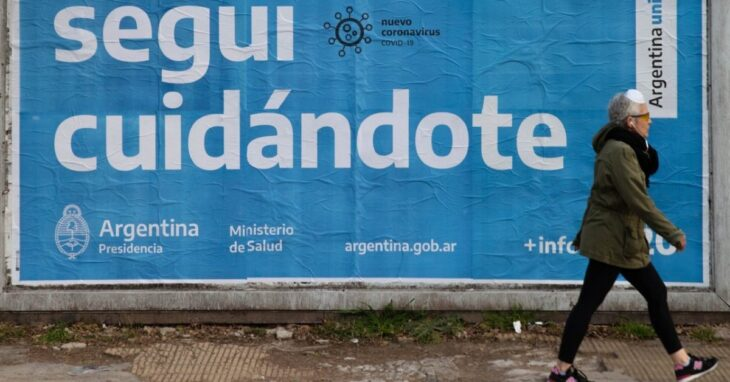 Coronavirus: en Argentina, se confirmaron 469 muertes y 10.652 nuevos casos en 24 horas