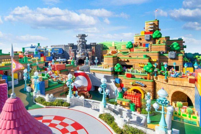 Universal Studios Japan estrenara el nuevo parque tematico Super Nintendo World el 4 de febrero