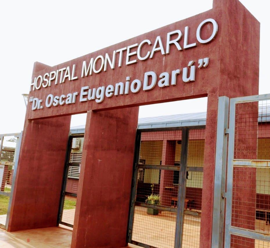 El Hospital de Montecarlo recibio una nueva unidad de traslado
