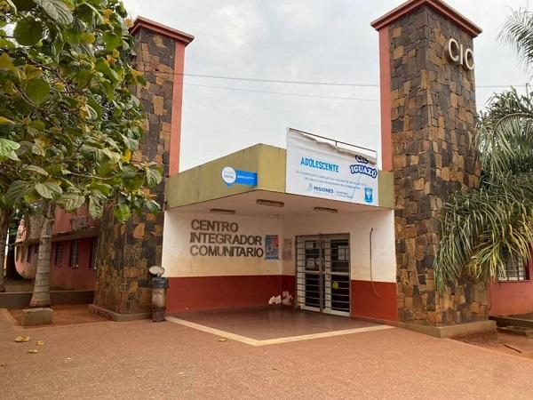 Coronavirus: cierran un Centro Integrador Comunitario en Puerto Iguazu tras confirmarse contacto con caso de Covid-19 positivo