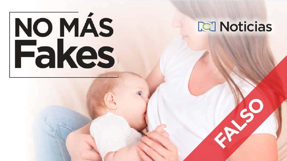 No se ha comprobado que la leche materna sea una cura para el covid-19