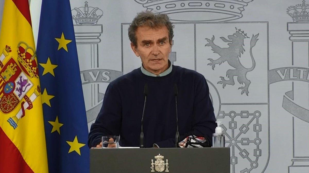 Simón advierte que el confinamiento domiciliario sería para toda España