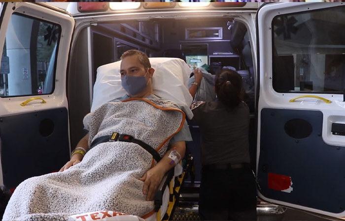 Coronavirus le destruyo sus pulmones, hoy tras un doble trasplante vive para contarlo