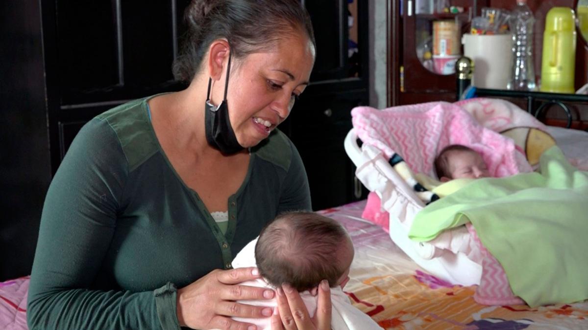 Mexicana sobrevive tras contraer COVID-19 embarazada de gemelas