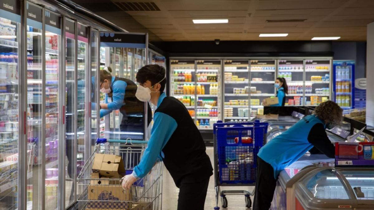 Trabajar en un supermercado se ha convertido en un empleo de riesgo durante la Covid, y ahora hay pruebas